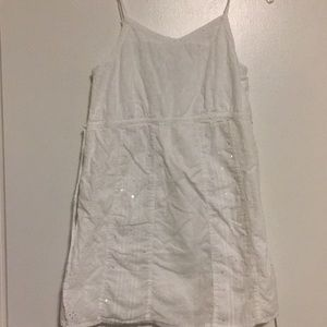 Limited Too White Sequence Camisole